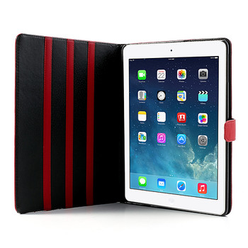 iPad 9.7 Stand Case Cover Red