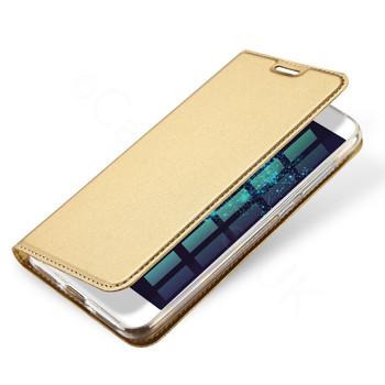 Huawei P10 LITE Flip Case Gold