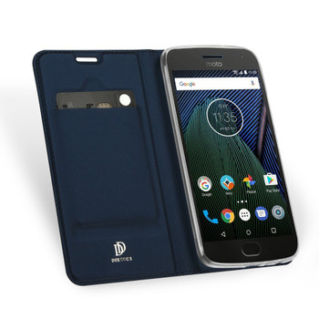 Motorola Moto G5S Cover Case Blue