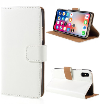 iPhone X Wallet Case White