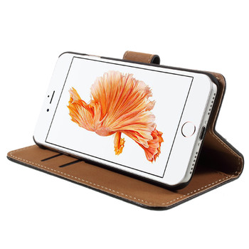 """iPhone 8+""""Plus"""" Leather Wallet Case"""