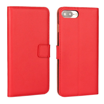 iPhone 8+ Case Wallet Leather