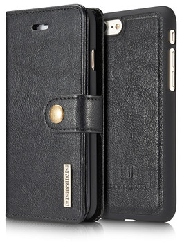 iPhone 8 Leather Wallet+Magnetic Case Cover