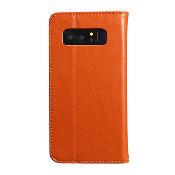 Samsung Galaxy Note 8 Premium Leather Case Light Brown
