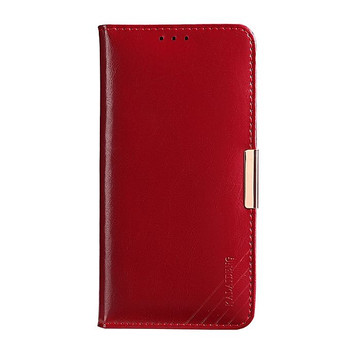 Samsung Galaxy Note 8 Premium Leather Case Burgundy
