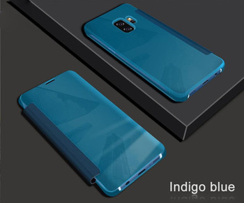 Samsung Galaxy S9 Wake Sleep Smart Case Blue
