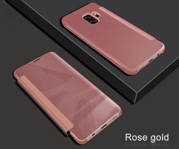 Samsung Galaxy S9 Wake Sleep Smart Case Pink