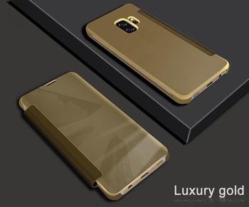 Samsung Galaxy S9 Wake Sleep Smart Case Gold