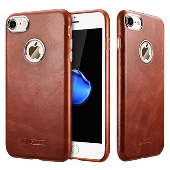 iPhone 8 Real Leather Case