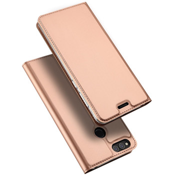 Honor 7X Leather Case Pink