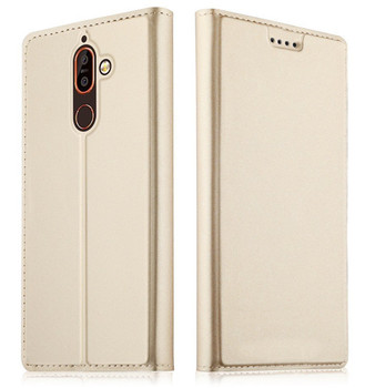Nokia 7 plus case leather