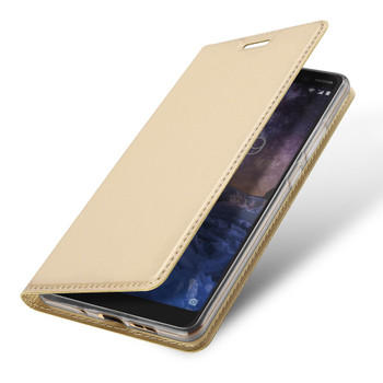 Nokia 7 Plus Case Cover Gold