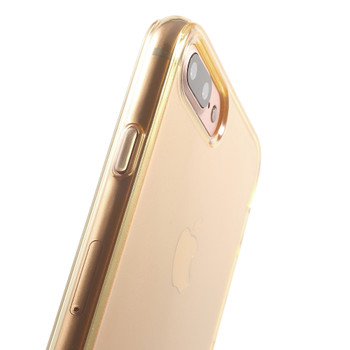 """iPhone 8+""""Plus"""" Rubbery Case Cover Gold"""