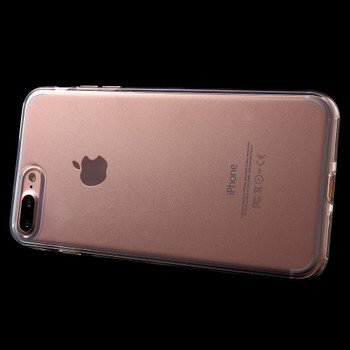 """iPhone 8+""""Plus"""" Rubbery Case Cover Clear"""