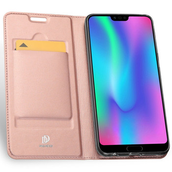 Honor 10 Flip Case Pink