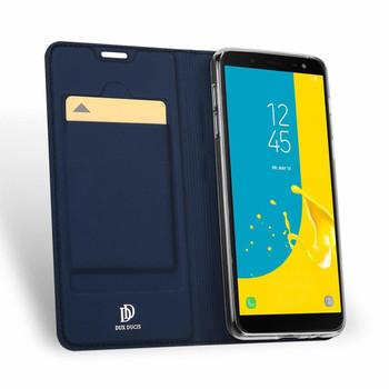 Samsung Galaxy J6 2018 Case Cover Blue