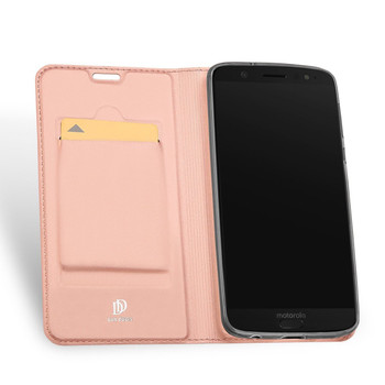 Moto G6 Plus Case Cover Soft Pink