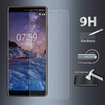Nokia 7 Plus Tempered Glass Protector