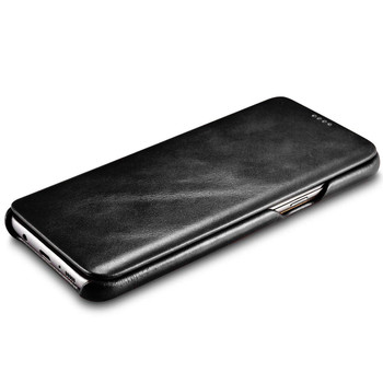 "Samsung Galaxy S8+""Plus"" Cowhide Leather Flip Case"