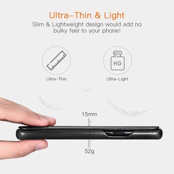 Samsung Galaxy S9 Genuine Leather Flip Case Cover