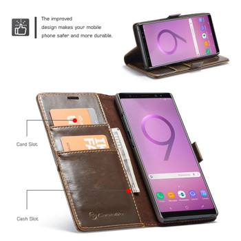 Samsung Galaxy Note 9 Wallet Case Coffee