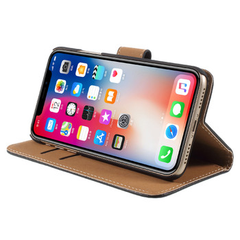 iPhone XS Leather Case Cover
