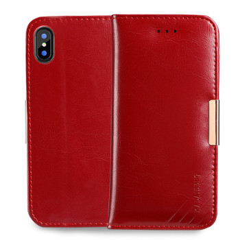 iPhone XS Luxury Leather Case