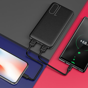 Dual USB Power Bank 10000mAh