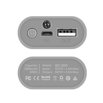 Universal Power Bank 5200mAh Portable