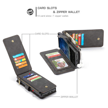 Samsung Galaxy Note 9 Leather Card Wallet Magnetic Case