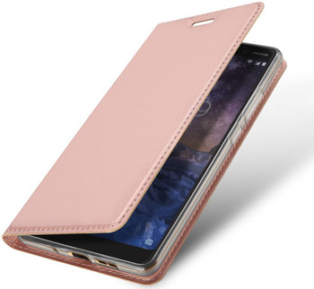 Nokia 7 Plus Case Cover Rose Gold
