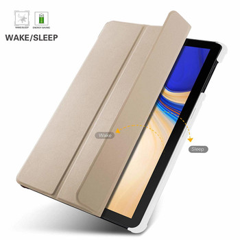 Samsung Galaxy Tab S4 Smart Case Cover Gold