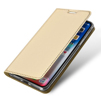 iPhone XR Flip Cover Case Gold