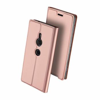 Sony Xperia XZ3 Flip Case Rose Gold