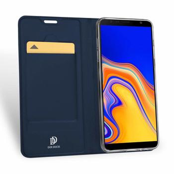 "Samsung Galaxy J4+""Plus"" Case Cover Blue"