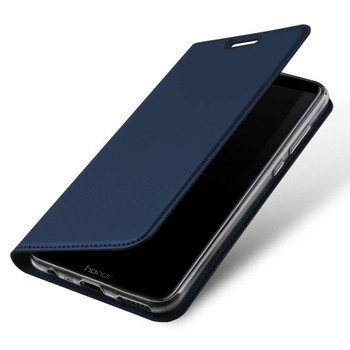 Honor 9 LITE Phone Case Slim Fit Flip Cover Blue