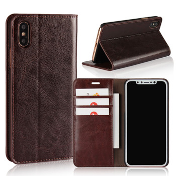 iPhone XR Leather Wallet