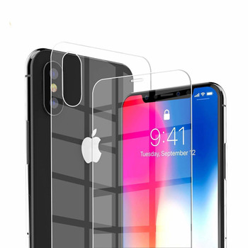 iPhone XS MAX Front+Back Tempered Glass Protector