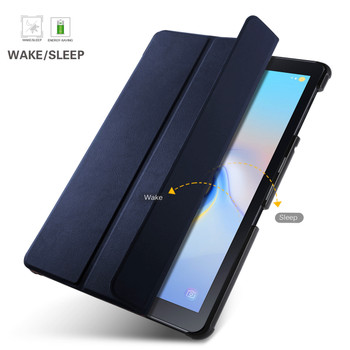 Samsung Tab A 10.5 Inch Smart Case Cover Blue