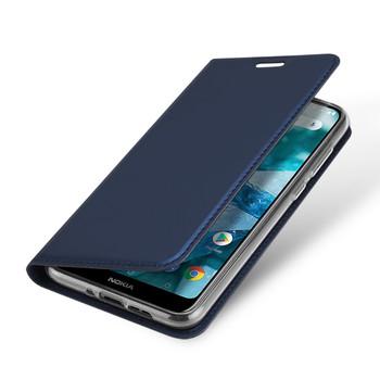 Nokia 7.1 Phone Case Cover Flip Holder Blue