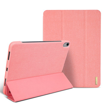 iPad Pro 12.9 Inch 3rd Gen Smart Case Cover Pink with Pencil Holder