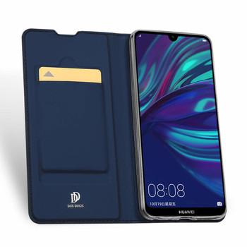 Huawei P Smart 2019 Case Cover Flip Holder Blue