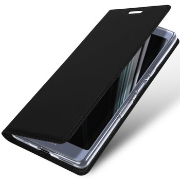 Sony Xperia L3 Case Cover Flip Holder Black