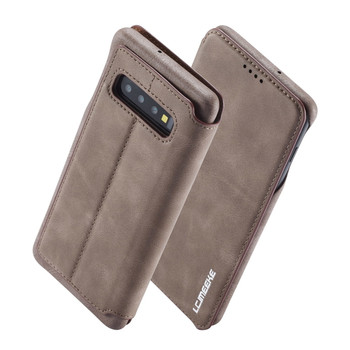 Samsung Galaxy S10 Case Cover Rustic Brown