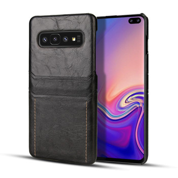 Samsung Galaxy S10 Card Holder Snap-On Slim Lite Case