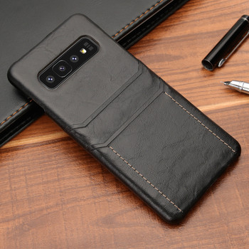 Samsung Galaxy S10+[Plus] Card Holder Slim Lite Case Cover