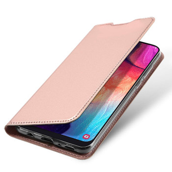 Samsung Galaxy A50 Case Full 360 Flip Cover Pink-Rose Gold