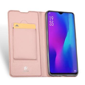 Huawei P30 Case Cover Flip Shockproof Holder Pink-Rose Gold