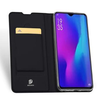 Huawei P30 Case Cover Flip Shockproof Holder Black