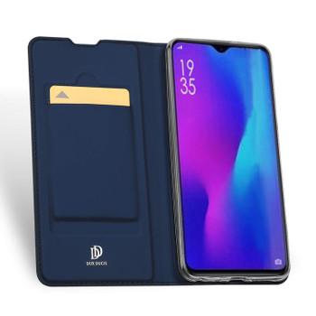 Huawei P30 Case Cover Flip Shockproof Holder Dark Blue